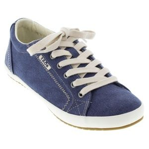 Taos Star Blue Wash Canvas sneakers 10